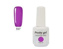 Гел лак Pretty 557 Сладко лилав цвят