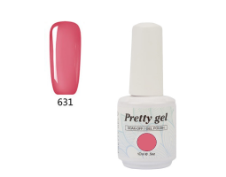 Гел лак Pretty 631 Светъл пурпур
