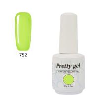 Гел лак Pretty 752 Шокиращо зелен