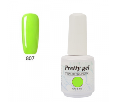 Гел лак Pretty 807-1473  Светла резида