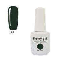 Гел лак Pretty 83  Дълбоско зелено