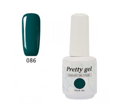 Гел лак Pretty 86 Прекрасно зелено