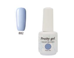 Гел лак Pretty 882 Бебешко синьо