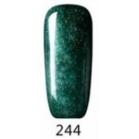 Гел лак Pretty 244 Мътно зелено