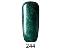 Гел лак Pretty 244 - 2798 Мътно зелено