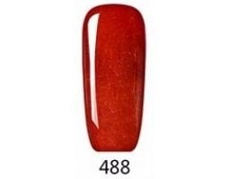 Гел лак Pretty 488 Брокатена червена мечта