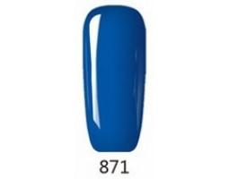 Гел лак Pretty 871 Опасно синьо