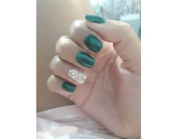 Гел лак Pretty 244 - 2049 Мътно зелено