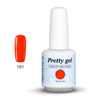 Гел лак Pretty 181 Оранж