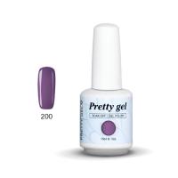 Гел лак Pretty 200 Пастелно лилаво