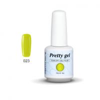 Гел лак Pretty А584 23 Жълто