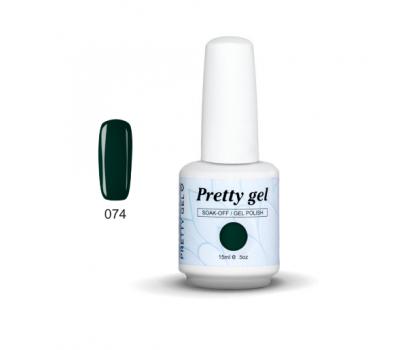 Гел лак Pretty 74 Модерно зелен