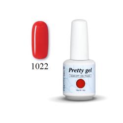Гел лак Pretty 1022 Светло червено