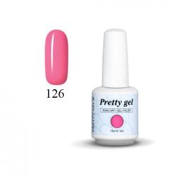 Гел лак Pretty 126 Розово сияние