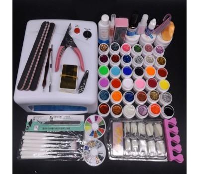 Комплект с 36 цветни гела