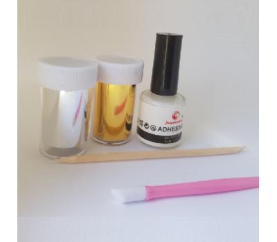 Комплект за декорация с фолио за нокти