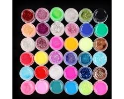 Цветни гелове 36 цвята  х 5 гр