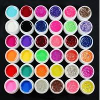 Цветни ув гелове 36 цвята  х 8 гр