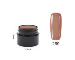 Цветен UV/Led гел  Pretty 5гр - Изберете цвят