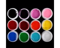 Цветни гелове 12 х 8 гр