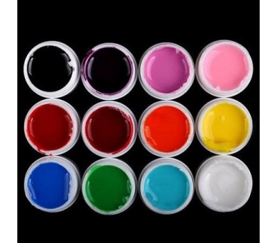 Цветни ув гелове 12 х 8 гр