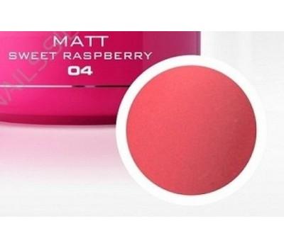 Гелова боя 04 Мат Sweet rasberry