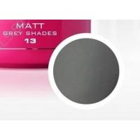 Гелова боя 13  matt grey shades