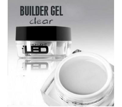 LED гел за изграждане - clear